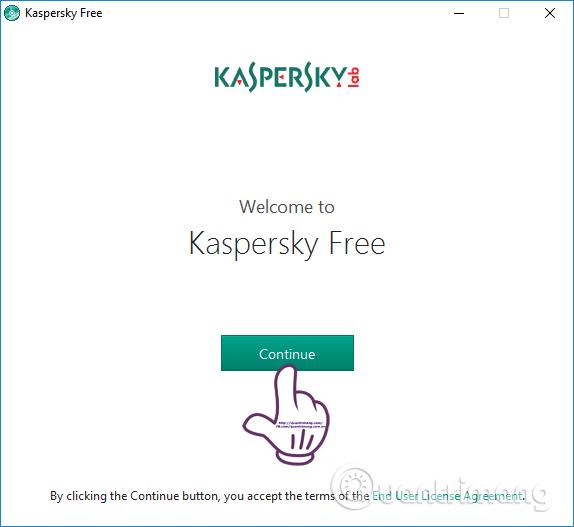 Cài đặt Kaspersky Free