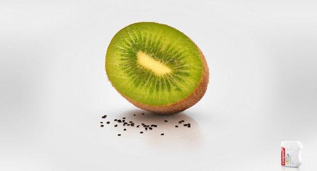 Thậm chí hạt Kiwi cũng không thể làm phiền bạn nếu bạn đã có chỉ nha khoa