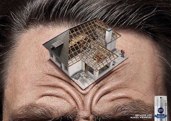 Đàn ông cũng có lý do riêng để sử dụng các biện pháp chống nếp nhăn