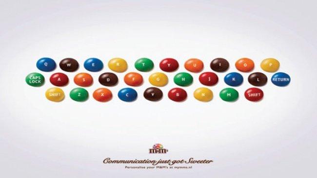 Giao tiếp sẽ trở nên dễ dàng hơn với kẹo sô cô la M&M