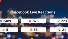 Hướng dẫn thống kê tương tác Reactions khi Livestream trên Facebook