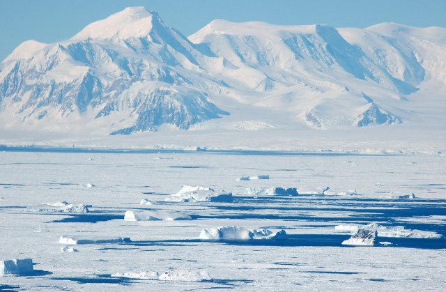 Nam Cực được coi là hoang mạc lớn nhất thế giới