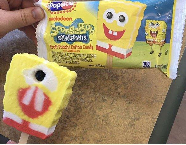 Kẹo Spongebob Popsicle