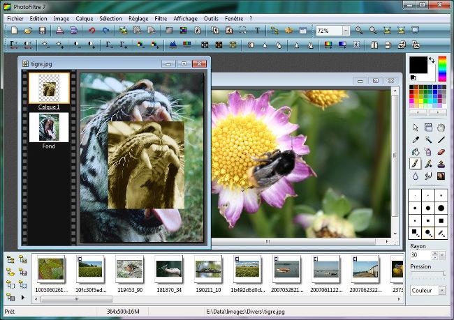 Phần mềm chỉnh sửa ảnh PhotoFiltre