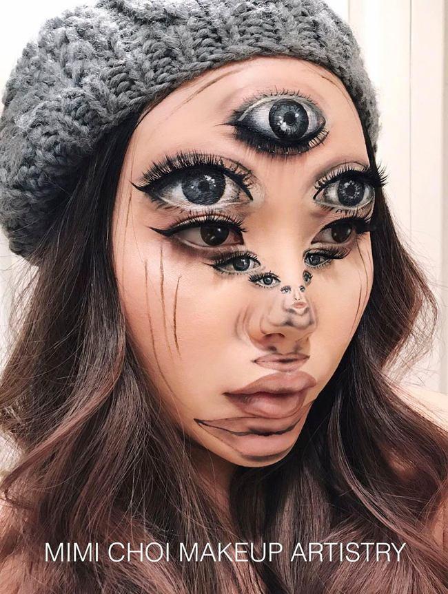11 đôi mắt! Nhưng đâu mới là mắt thật của Mimi?
