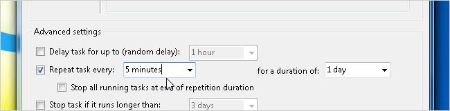 Cài đặt thời gian mở tab mới