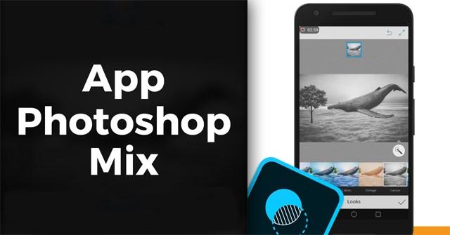 Các dùng Photoshop Mix xóa chi tiết trong ảnh - Quantrimang com