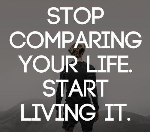 Đừng bao giờ so sánh bản thân mình với người khác