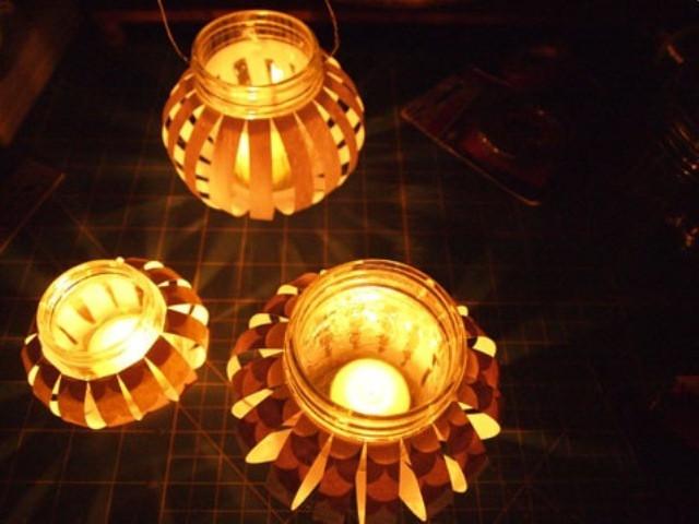 Đèn lồng thủy tinh