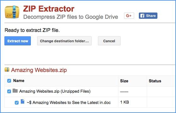 Cách giải nén file Zip trực tiếp trên Google Drive - Quantrimang com