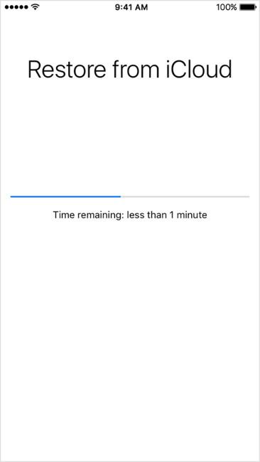Khôi phục dữ liệu, tin nhắn đã xóa từ bản sao lưu trong iCloud