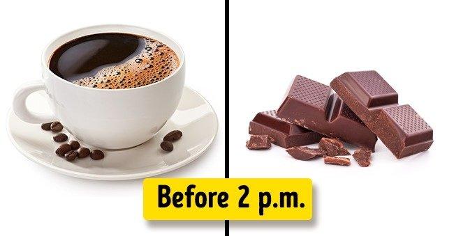 Use plenty of caffeine