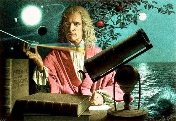 """Newton đưa ra các tình tiết về câu chuyện """"táo rơi trúng đầu"""" để minh họa ngắn gọn khám phá của ông về lực hấp dẫn"""
