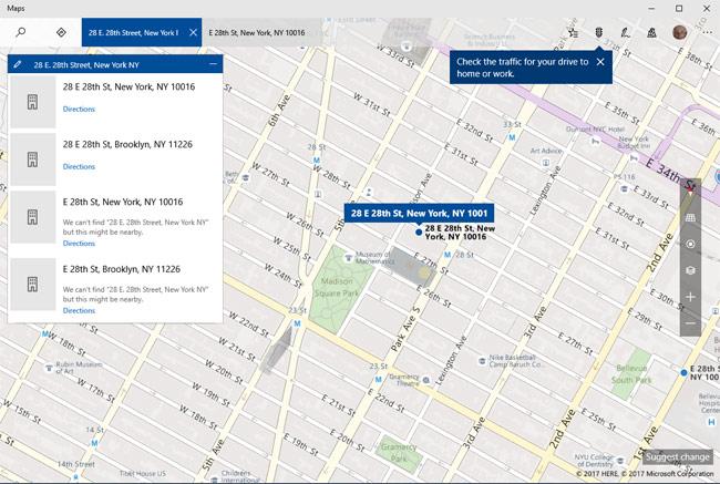 Phần mềm Bing Maps