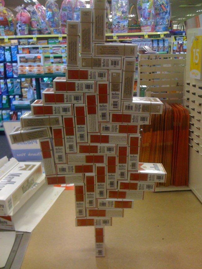 Thánh xếp gỗ của năm đây rồi.