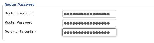 Thay đổi tên người dùng và mật khẩu quản trị