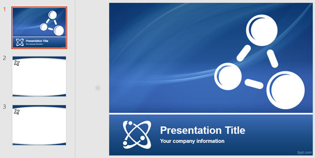 Mẫu slide PowerPoint dành cho môn vật lý