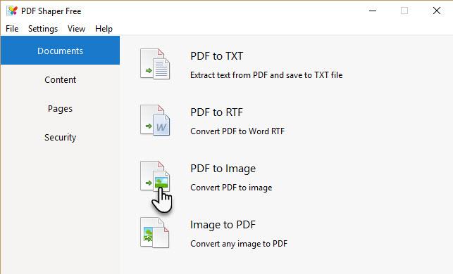 Phần mềm PDF Shaper