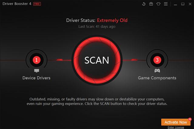Driver Booster hỗ trợ tất cả các phiên bản Windows