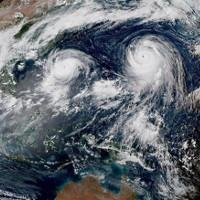 Điều gì sẽ xảy ra khi hai cơn bão đụng độ nhau?