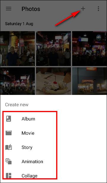 Chỉnh sửa ảnh trên Google Photos