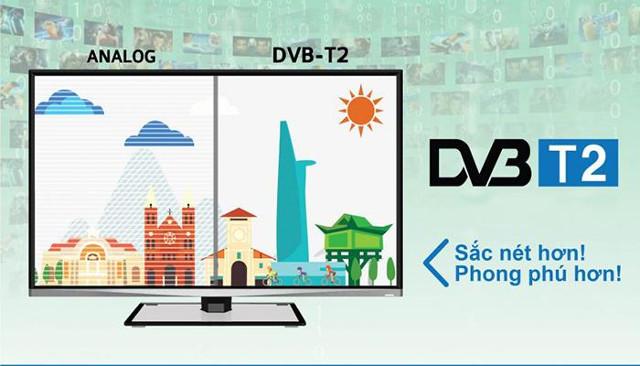 Tivi DVB- T2 đem lại lợi ích gì