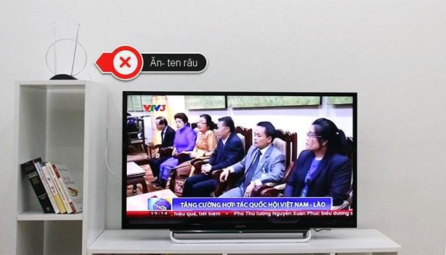 Tivi kỹ thuật số chuẩn DVB- T2 có cần ăng-ten