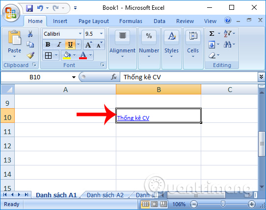 Liên kết với 1 file Excel