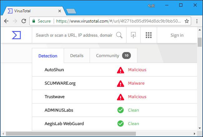 Các công cụ phát hiện phần mềm độc hại