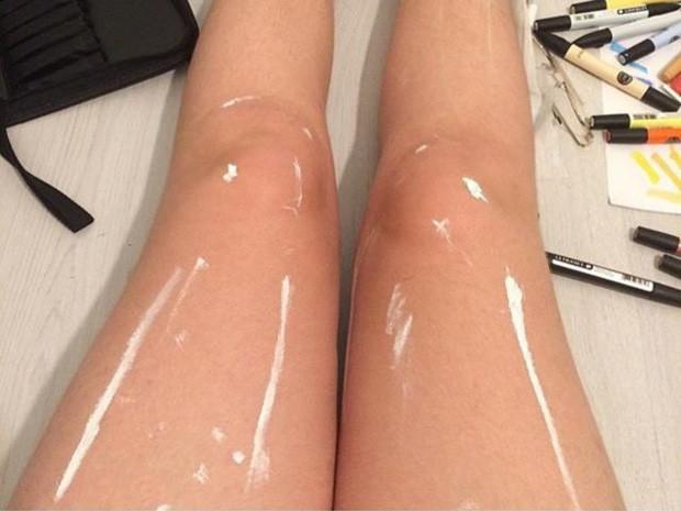 """Bạn có thấy cặp chân này """"mỡ màng"""" không"""