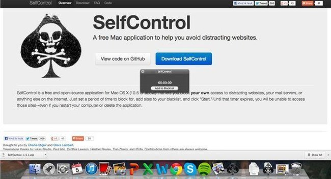 """Self Control - ứng dụng nhắc nhở cực """"gắt"""""""