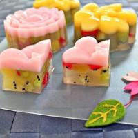 Hướng dẫn làm bánh Trung thu hoa quả cực mát và thơm ngon