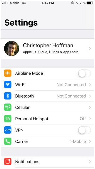 Cài đặt Wifi và Bluetooth