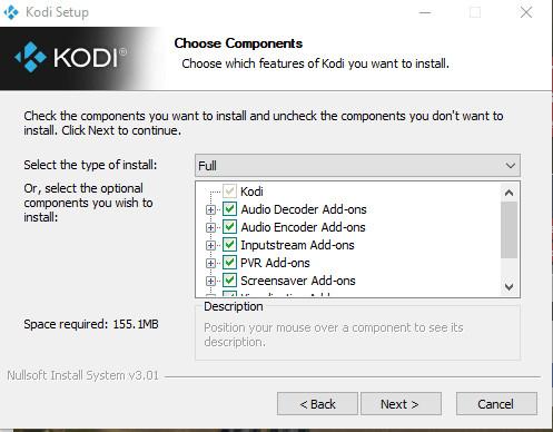 Cài đặt Kodi
