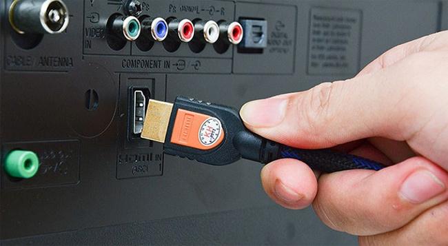 Kết nối HDMI cho tivi và laptop