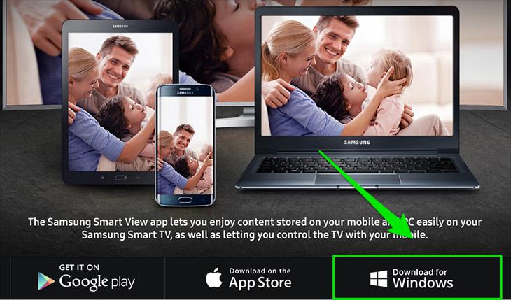 Ứng dụng Samsung Smart View