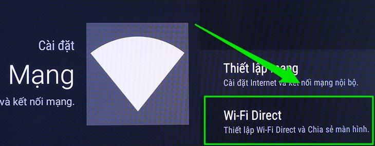 Kết nối Wifi Direct