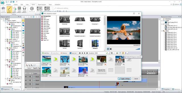 Phần mềm VSDC Viceo Editor