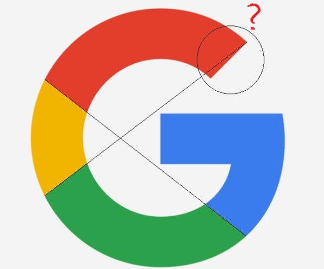 Logo của Google có thể khiến những người theo chủ nghĩa cầu toàn cảm thấy cực kỳ khó chịu.