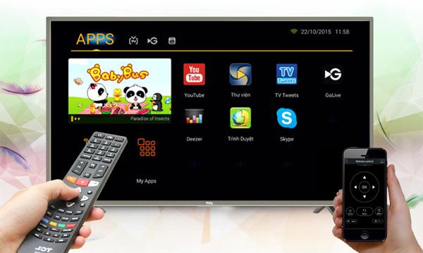 Cài ứng dụng trên Smart Tivi