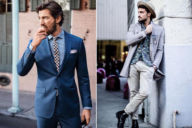 Trang phục dành cho nam giới theo xu hướng 2017