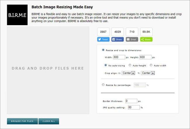 BIRME (Batch Image Resizing Made Easy)