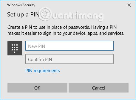 Đặt mật khẩu Windows 10 bằng hình ảnh