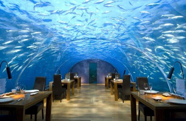 Conrad Maldives, đảo Rangali