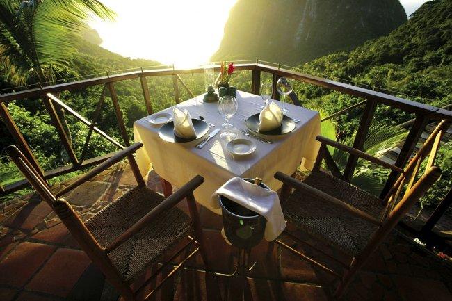 Khu nghỉ dưỡng Ladera Resort, St. Lucia