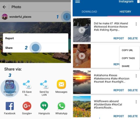 Ứng dụng Video Downloader for Instagram