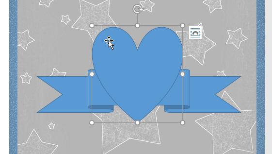 Nhấp chuột phải vào hình trái tim