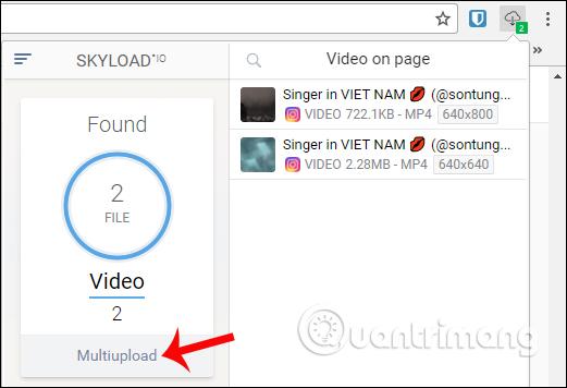 Cách dùng tiện ích Skyload tải nhạc, video trên máy tính