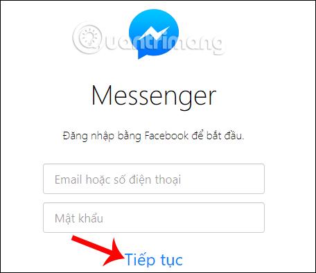 Đăng nhập vào tài khoản Facebook của bạn
