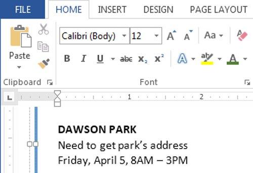 Text case trong tài liệu của bạn sẽ thay đổi